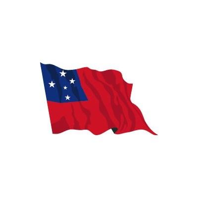 Bandiera samoa vendita bandiere oceania bandiere online - Bandiere bianche a colori ...