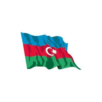 Bandiera azerbaigian vendita bandiere asia bandiere online - Bandiere bianche a colori ...