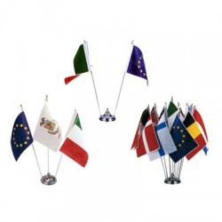 Bandierine da tavolo stampate vendita accessori bandiere online - Porta bandiere da tavolo ...