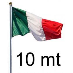 Pennone h 10 mt
