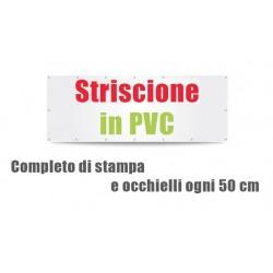 Striscione in PVC