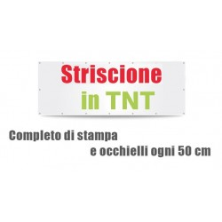 Striscione in TNT