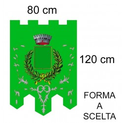 Gonfalone Ricamato 80x120