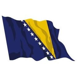 Bandiera Bosnia Erzegovina
